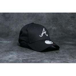 New Era 9Forty Women Essential Atlanta Braves Cap Black/ Silver