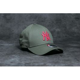 New Era 9Forty MLB League Essential New York Yankees Cap Olive/ Pink