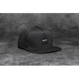 HUF Apparel Cap Box Logo Snapback Black