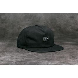 HUF Apparel Cap Bar Logo Snapback Black