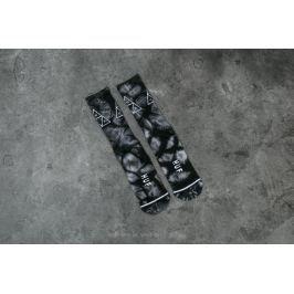 HUF Apparel Socks Triple Tie Dye Crew Sock Black