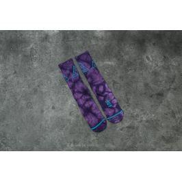 HUF Apparel Socks Triple Tie Dye Crew Sock Purple
