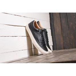 Vans Old Skool (Lux Leather) Black/ Porcini