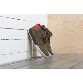 Supra Skytop III Olive/ Risk Red