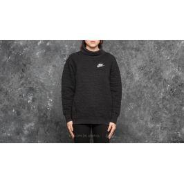 Nike Sportswear Funnel-Neck Quilt Black