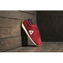 le coq sportif Quartz Perforated Nubuck Ruby Wine/ Dress Blue
