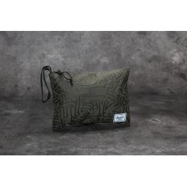 Herschel Supply Co. Network Pouch Forest Night-Keith Haring