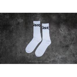 Stüssy Jacquard Logo Socks White