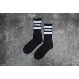 Stüssy Stripe Crew Socks Black