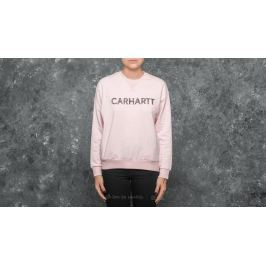 Carhartt WIP W Holbrook Freehand Sweat Soft Rose Heather/ Black