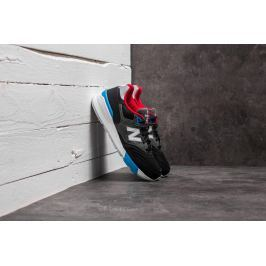New Balance 597 Black/ Grey/ Red-White-Blue