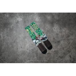HUF Big Cats Crew Sock Green