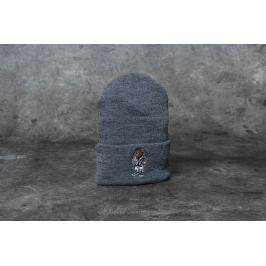 Cayler & Sons Purple Swag Old School Beanie Dark Grey Heather