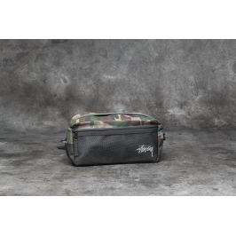 Stüssy Stock Side Bag Woodland Camo