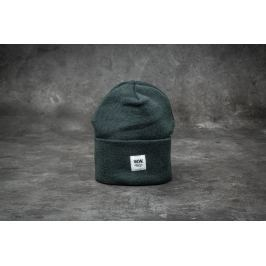 WOOD WOOD Gerald Tall Beanie Dark Green