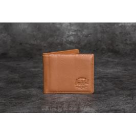 Herschel Supply Co. Hank + Leather Wallet Tan