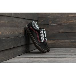 Vans Old Skool (Bleacher) Black/ Port/ Gum