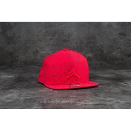 Jordan Speckle Print Snapback Gym Red