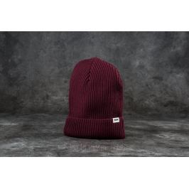 WOOD WOOD Henry Ribbed Beanie Burgundy