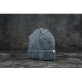 WOOD WOOD Henry Ribbed Beanie Grey Melange
