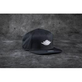 Jordan Wings Strapback Black/ White
