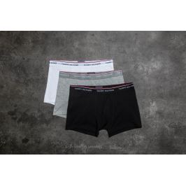 Tommy Hilfiger 3 Pack Trunks Black/ Grey Heather/ White