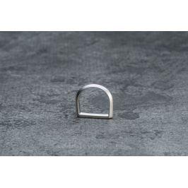 Miansai Flat Top Ring Silver Brushed