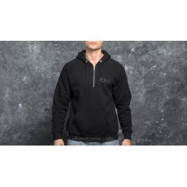 Polar Skate Co. Half Zip Hood Black