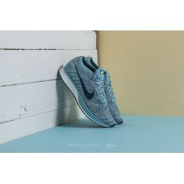 Nike Flyknit Racer White/ Legion Blue-Mica Blue