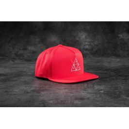 HUF Apparel 420 Triple Triangle Snapback Red