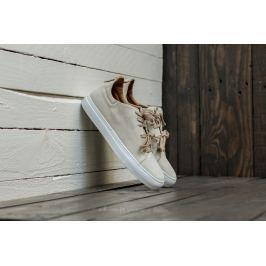 Marco Laganà Sneaker Low Velour White-White