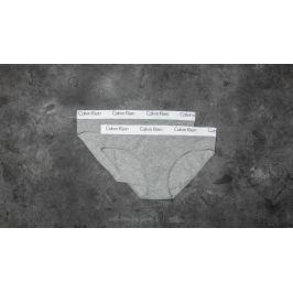 Calvin Klein Bikini Panties 2 Pack Grey