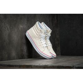 Vans Sk8-Hi Slim (Leather Canvas) Bone/ True White
