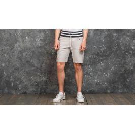Champion Contrast Ribbed Hem Sweat Shorts Grey