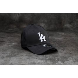 New Era 39Thirty MLB Essential Los Angeles Dodgers Cap Black/ White