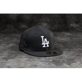 New Era 59Fifty MLB Basic Los Angeles Dodgers Cap Black/ White