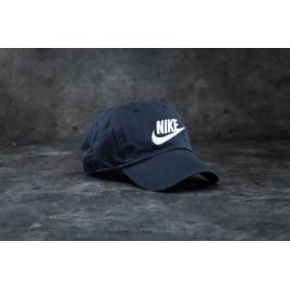 Nike Futura Washed H86 Cap Black/ White