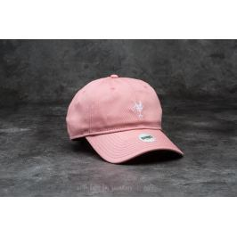 Djinn's 6 Panel Curved Visor Canvas Cap Rose