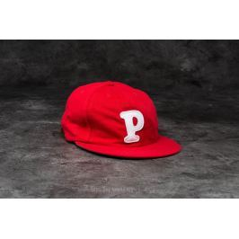 by Parra College P 6 Panel Hat Red