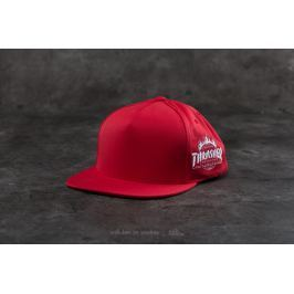 HUF x Thrasher Tour De Stoops Snapback Red