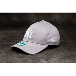 New Era 9Forty Adjustable Major League Baseball Basic New York Yankees Cap Grey/ White
