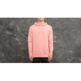 HUF Bar Logo Overdyed Pullover Hoodie Rose