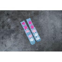 HUF Melange Plantlife Crew Sock Blue