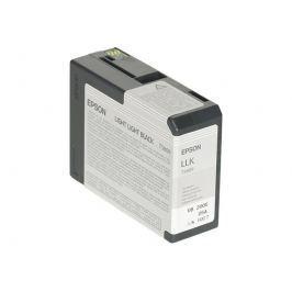 Epson T5809 - cartucho de impresión - negro claro claro