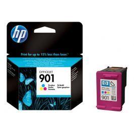HP 901 - CC656AE - cartucho de impresión - color (cian, magenta, amarillo)