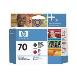 HP 70 - C9409A - cabezal de impresión - rojo, negro mate