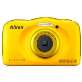 Nikon Cámara Fotográfica Coolpix W100 Amarillo