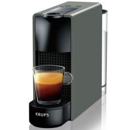 Krups Cafetera Nespresso Essenza Mini Piano Gris intenso