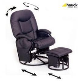 Hauck Sillón de lactancia y relajación Metal-Glider Recline