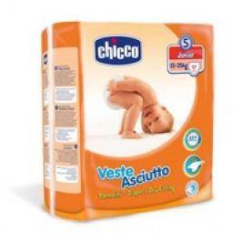 Chicco Veste Asciutto Pañales Grupo 5 «Junior», 12-25 kg